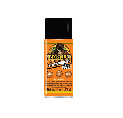 GORILLA ADHESIVE SPRAY || لاصق رش