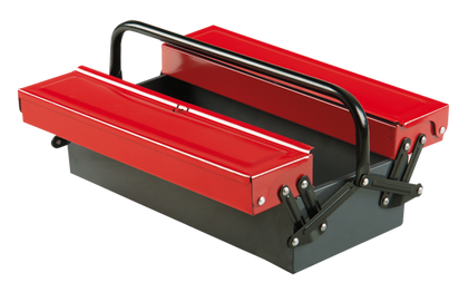 Ceta Form A25-3S 3 Compartment Short Type Metal Tool Bag