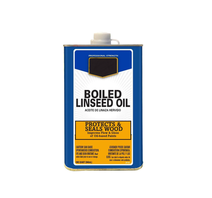 GOLDEN LINSEED OIL Iron can GP-069 3.6L