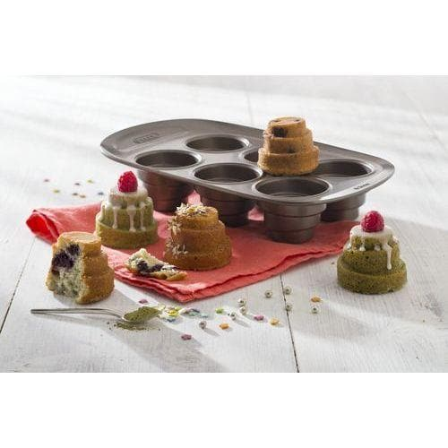 Asimetria Layered Cakes Tray 6-Cups