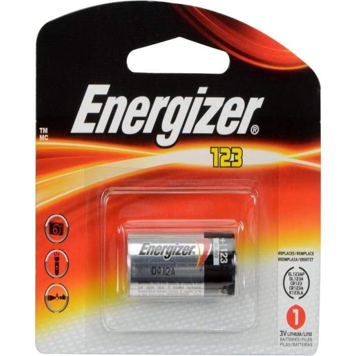 Energizer Lithium 123 1Pack 3V Lithium Battery