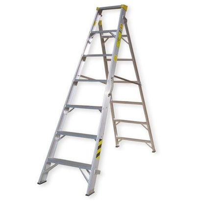 Mazaya Aluminum Ladder 7 Drawer