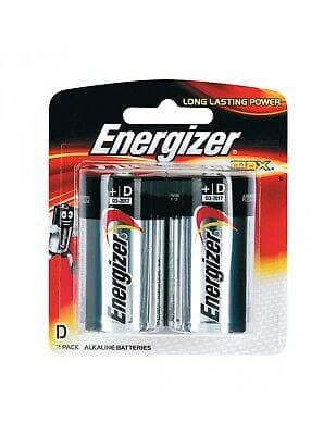 Energizer Batteries D-2 No Max