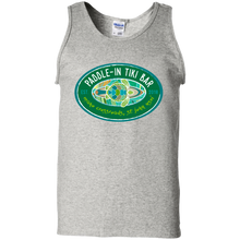 Load image into Gallery viewer, Paddle-In Tiki Bar Cotton Tank Top