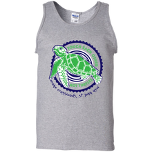 Load image into Gallery viewer, Touch Each Other Not Turtles Cotton Tank Top