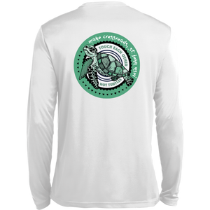 Maho Don't Touch Turtles LS Wicking T-Shirt