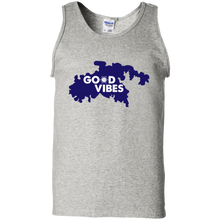 Load image into Gallery viewer, Good Vibes Cotton Tank Top