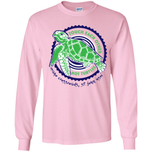 Load image into Gallery viewer, Touch Each Other Not Turtles Youth Long Sleeve T-Shirt