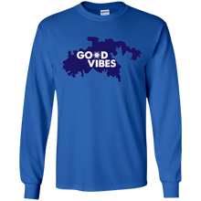 Load image into Gallery viewer, Good Vibes Youth Long Sleeve T-Shirt