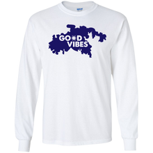 Load image into Gallery viewer, Good Vibes Cotton Long Sleeve T-Shirt