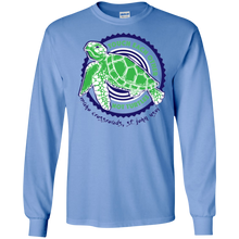 Load image into Gallery viewer, Touch Each Other Not Turtles Long Sleeve Ultra Cotton T-Shirt