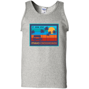 Crossroads Sunset Cotton Tank Top