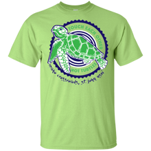 Load image into Gallery viewer, Touch Each Other Not Turtles Youth Ultra Cotton T-Shirt