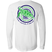 Load image into Gallery viewer, Touch Each Other, Not Turtles Bella + Canvas Men's Jersey LS T-Shirt