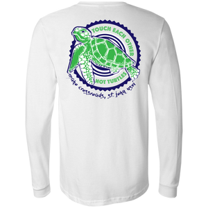 Touch Each Other, Not Turtles Bella + Canvas Men's Jersey LS T-Shirt