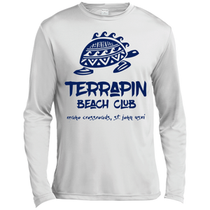 Terrapin Beach Club Long Sleeve Moisture Absorbing T-Shirt