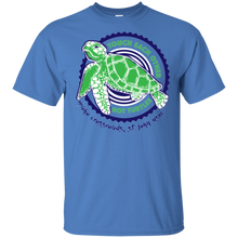Load image into Gallery viewer, Touch Each Other Not Turtles Cotton T-Shirt