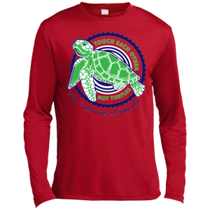 Touch Each Other Not Turtles Long Sleeve Moisture Absorbing T-Shirt