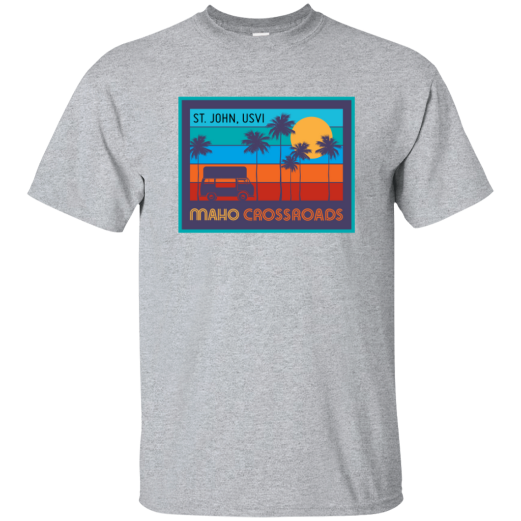 Crossroads Sunset Cotton T-Shirt