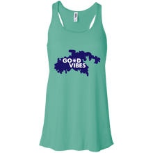 Load image into Gallery viewer, Crossroads Bella + Canvas Flowy Racerback Tank