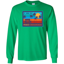 Load image into Gallery viewer, Crossroads Susnset Youth LS Shirt