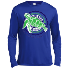 Load image into Gallery viewer, Touch Each Other Not Turtles Long Sleeve Moisture Absorbing T-Shirt