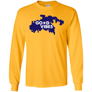 Good Vibes Cotton Long Sleeve T-Shirt