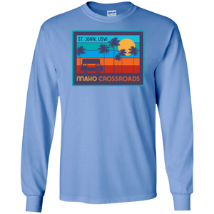 Crossroads Sunset LS Cotton Shirt