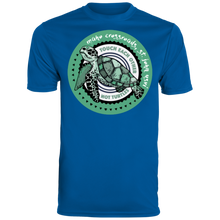 Load image into Gallery viewer, Don't Touch Turtles Augusta Men's Wicking T-Shirt
