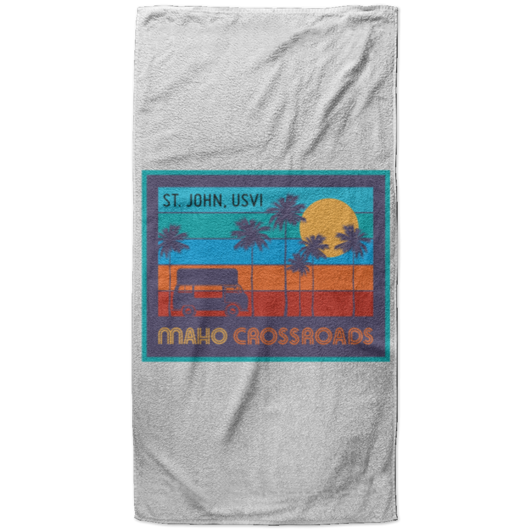 Crossroads Sunset Beach Towel