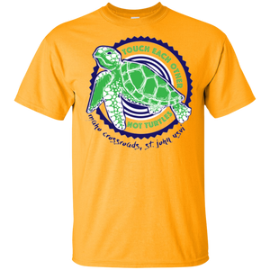 Touch Each Other Not Turtles Cotton T-Shirt