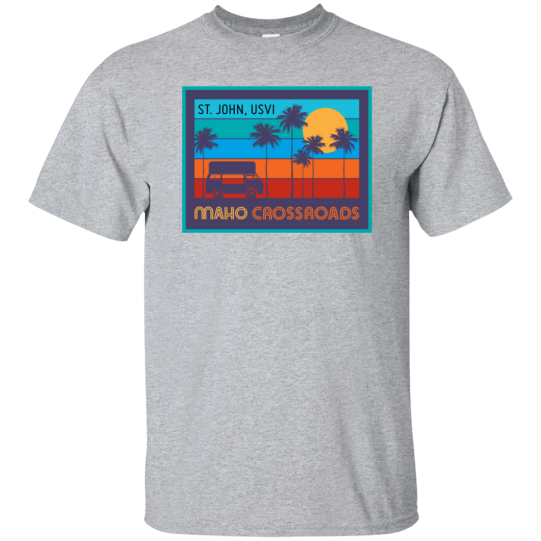 Crossroads Sunset Youth Cotton T-Shirt