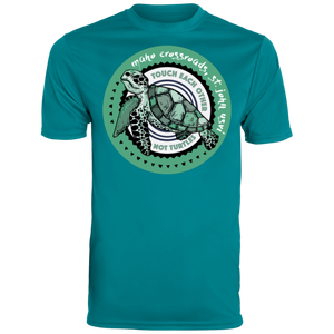 Don't Touch Turtles Augusta Men's Wicking T-Shirt
