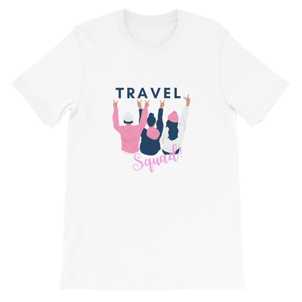Travel Squad Girls Women's T-Shirt - The Travel Shopp