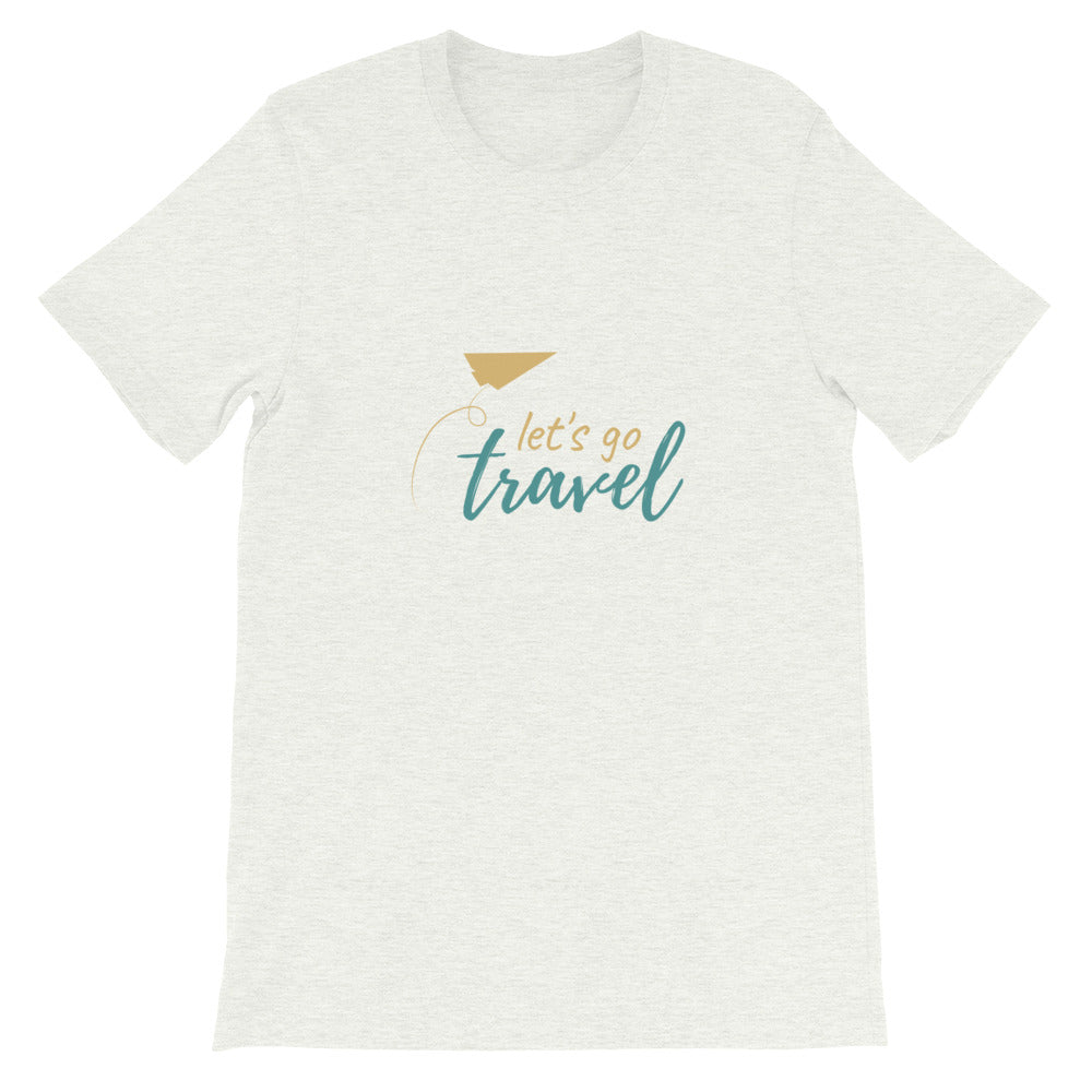 Let's Go Travel Unisex T-Shirt - The Travel Shopp