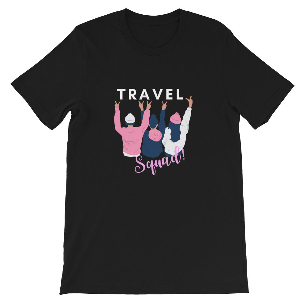 Travel Squad Dark Women's T-Shirt - The Travel Shopp