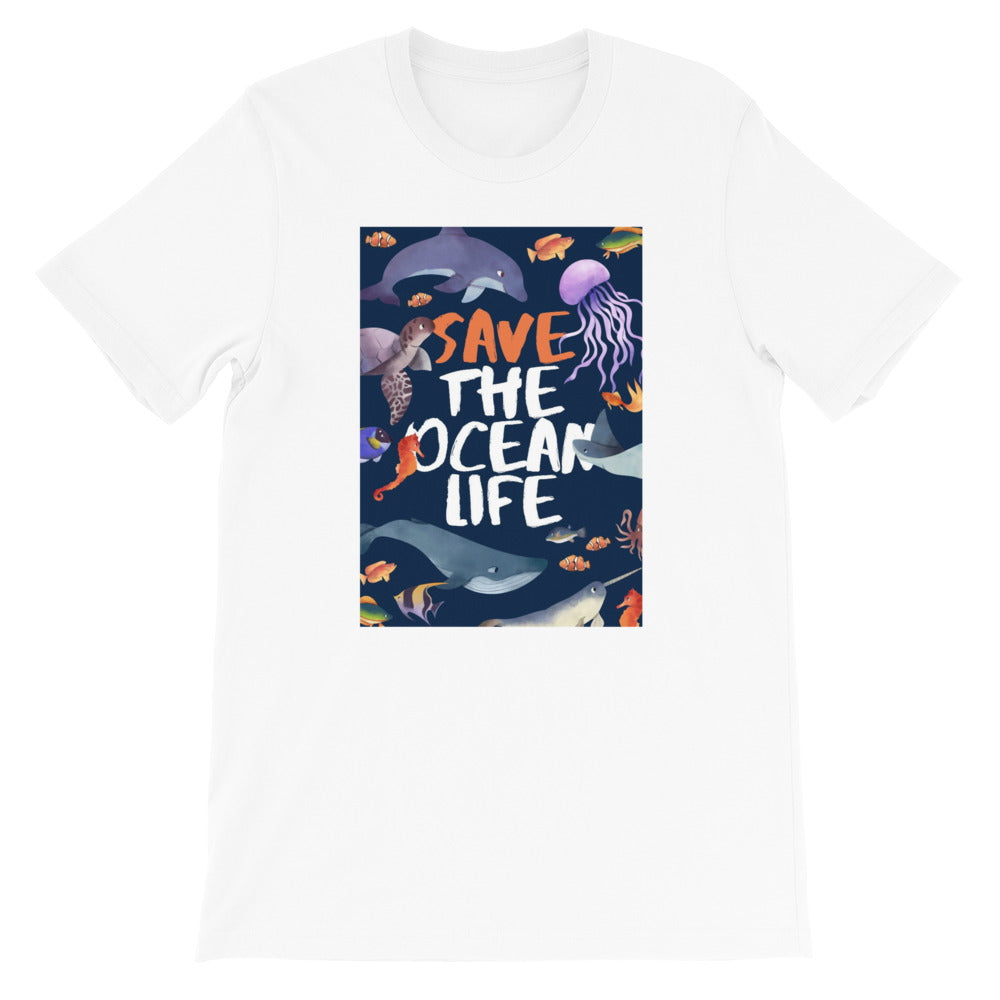 Save The Ocean Life Unisex T-Shirt - The Travel Shopp
