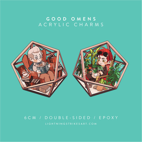 Good Omens Charms