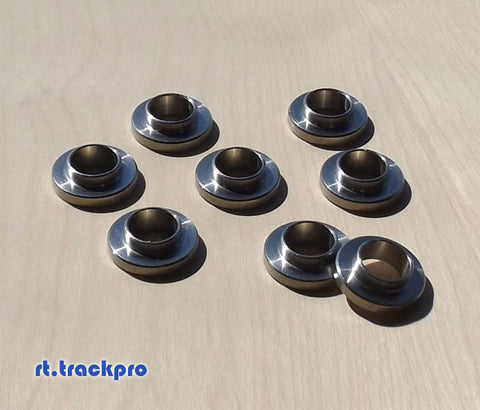 Stainless 14mm to 12mm Reducing Inserts (S14 Coilover Adapter)