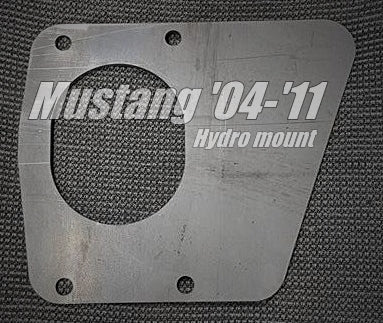 Mustang '04 - '11 Hydro Mount Bracket Kit - Street Weapons  - Locally engineered and crafted aftermarket items for Race, drift, and street cars apparel accessories supplies electronics