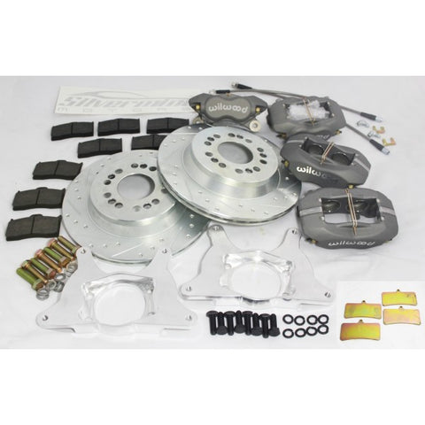 S-Chassis Rear Dual Caliper Kit - Wilwood - Street Weapons  - Locally engineered and crafted aftermarket items for Race, drift, and street cars apparel accessories supplies electronics