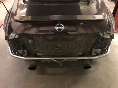 350z Rear Bash Bar