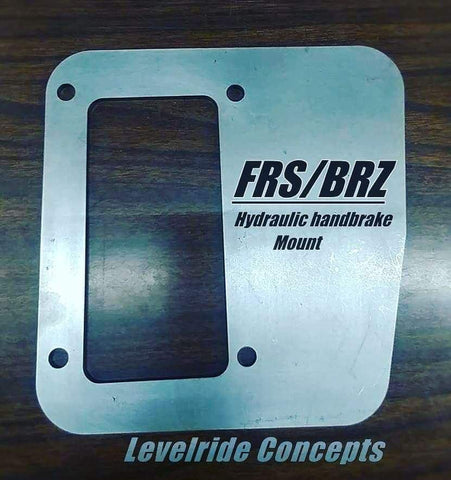 FRS|BRZ Hydro Mount Bracket Kit - Street Weapons  - Locally engineered and crafted aftermarket items for Race, drift, and street cars apparel accessories supplies electronics