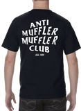 """Anti Muffler Muffler Club"" Tee - Street Weapons  - Locally engineered and crafted aftermarket items for Race, drift, and street cars apparel accessories supplies electronics"