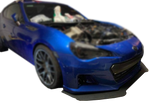 '13 - '17 BRZ/FRS Bumper Mount Splitter W/ Hardware - Street Weapons  - Locally engineered and crafted aftermarket items for Race, drift, and street cars apparel accessories supplies electronics