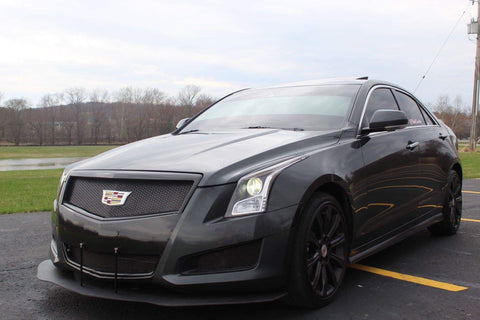 '13 - '14 Cadillac ATS|ATS-V Bumper Mount Splitter W/ Hardware - Street Weapons  - Locally engineered and crafted aftermarket items for Race, drift, and street cars apparel accessories supplies electronics