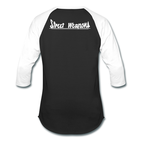 """Street Weapons"" Baseball Tee - Street Weapons Baseball T-Shirt - Locally engineered and crafted aftermarket items for Race, drift, and street cars apparel accessories supplies electronics"