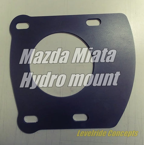 Miata Hydro Mount Bracket Kit - Street Weapons  - Locally engineered and crafted aftermarket items for Race, drift, and street cars apparel accessories supplies electronics