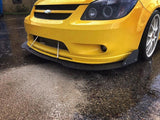 '05 - '10 Chevy Cobalt Front Bumper Mount Splitter W/ Hardware - Street Weapons  - Locally engineered and crafted aftermarket items for Race, drift, and street cars apparel accessories supplies electronics