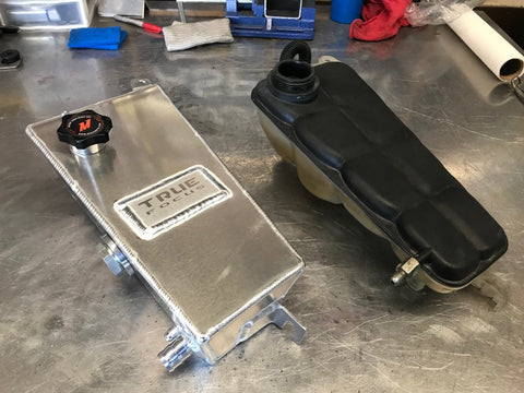 C6 Corvette Coolant Expansion/Overflow Tank - Street Weapons  - Locally engineered and crafted aftermarket items for Race, drift, and street cars apparel accessories supplies electronics
